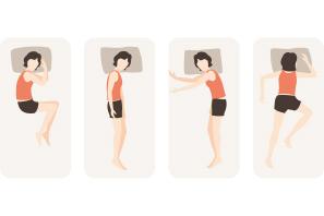 身体の機能回復は自由な寝姿勢から